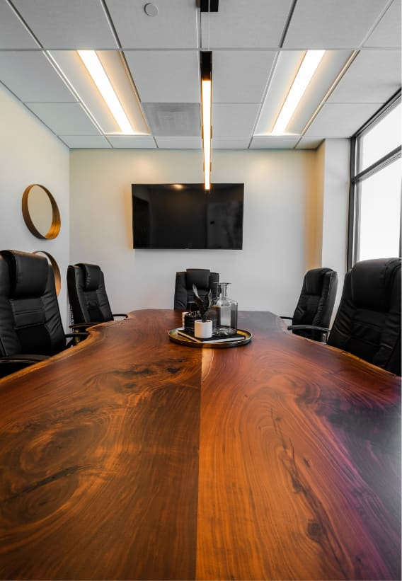Business law meeting room