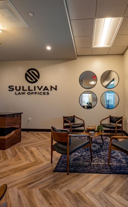Sullivan Law Offices waiting room